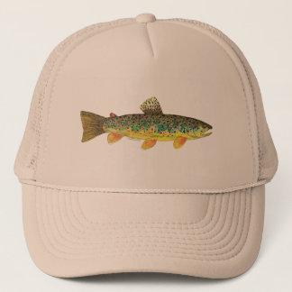 Bachforelle-Fischen Truckerkappe