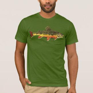 Bachforelle-Fliegen-Fischen T-Shirt