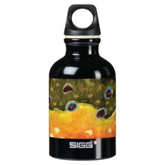 Bachforelle-Fliegen-Fischers Sigg Reise-.3 Aluminiumwasserflasche