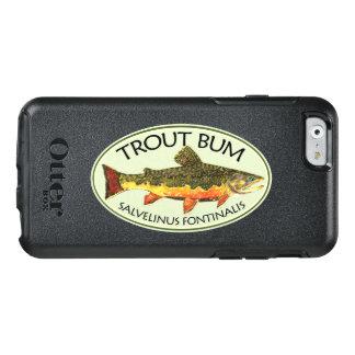Bachforelle-Gammler-humorvolles Fliegen-Fischen OtterBox iPhone 6/6s Hülle