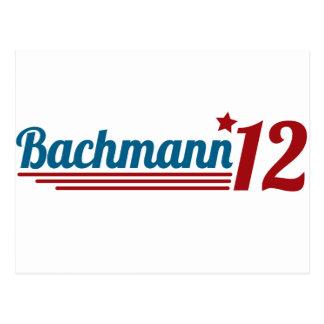 Bachmann '12 postkarte