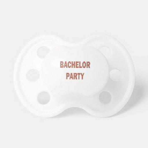 BACHOLER PARTY: Verlobung, Hochzeit, Flitterwochen Schnuller