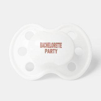 BACHOLERETTE Party Hochzeits-Verlobung LOWPRICES Schnuller