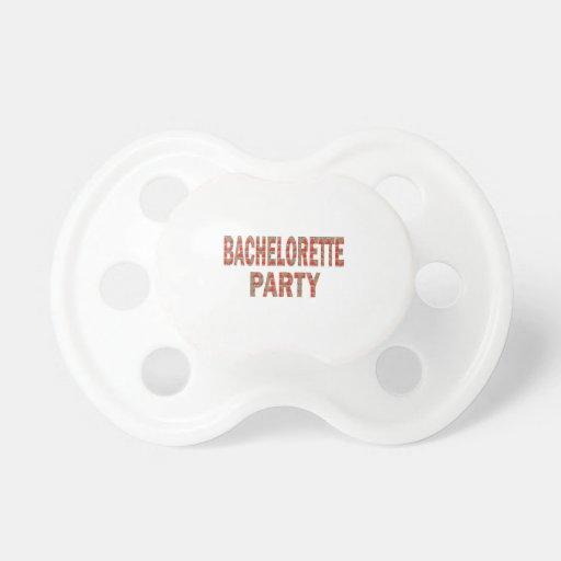 BACHOLERETTE Party: Hochzeits-Verlobung LOWPRICES Schnuller