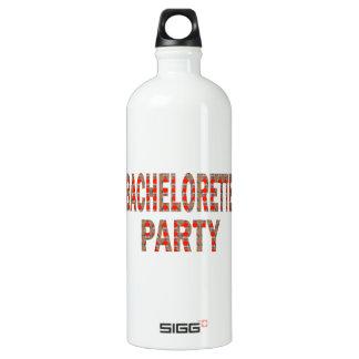 BACHOLERETTE Party: Hochzeits-Verlobung LOWPRICES Wasserflasche