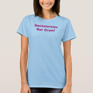 Bacholorette Bar-Schleichen T-Shirt