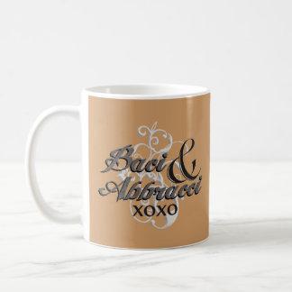 Baci u. Abbracci - Umarmungen u. Küsse - XOXO Tasse
