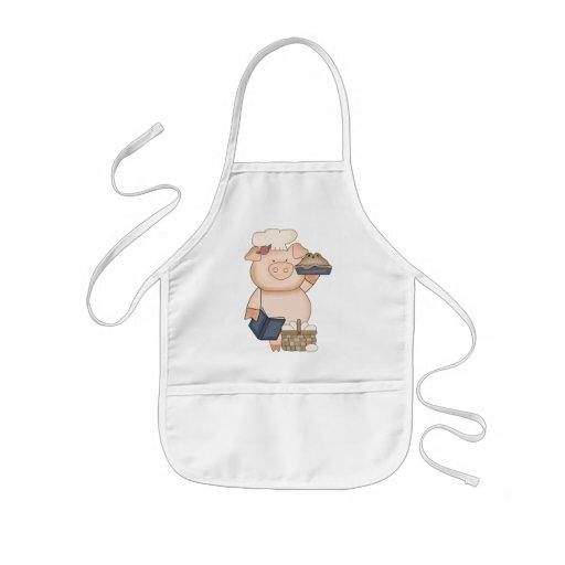 Backen-Schwein-Schürzekinder Schürzen