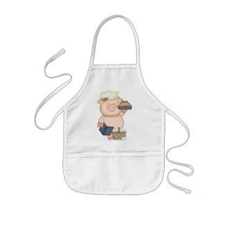 Backen-Schwein-Schürzekinder Kinderschürze