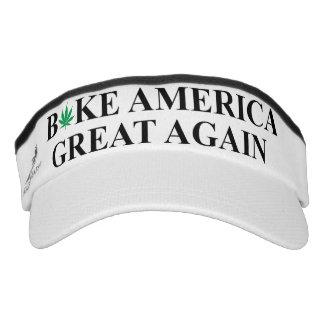 Backen Sie große wieder Maske Amerikas Visor