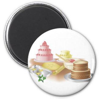 Backende Kuchen und Plätzchen