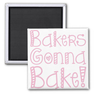 Bäcker, die gehen, Magneten zu backen Magnets
