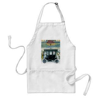 Bäcker-elektrische Autos - Vintage Anzeige Schürzen