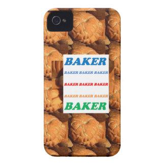 BÄCKER Keks-Plätzchen-Kuchen-Gebäck-Eiscreme SPASS Case-Mate iPhone 4 Hüllen