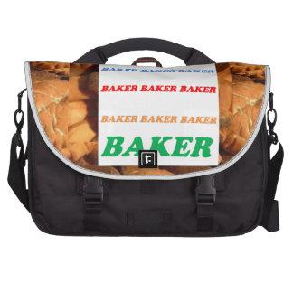 BÄCKER Keks-Plätzchen-Kuchen-Gebäck-Eiscreme SPASS Laptop Tasche