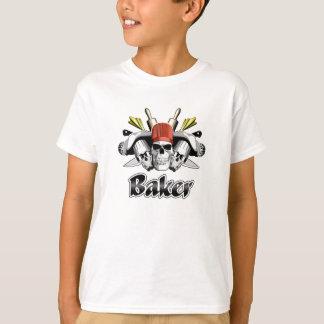 Bäcker-Schädel: Werkzeuge des Handels T-Shirt
