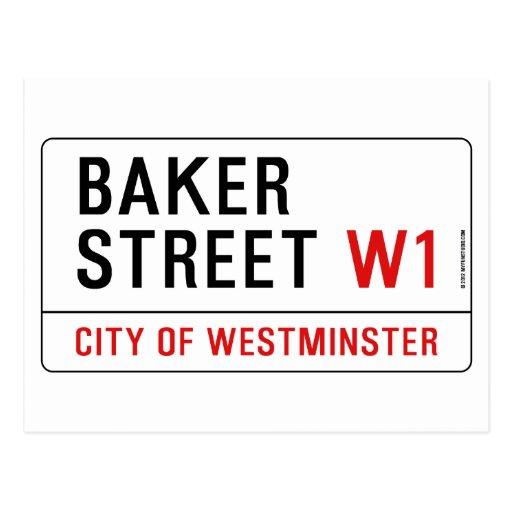 Bäcker-Straße Postkarten