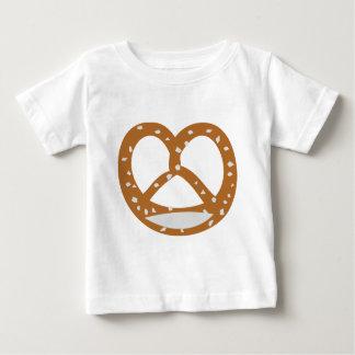 Bäckerbrezelbäckerei-Logosymbol Baby T-shirt