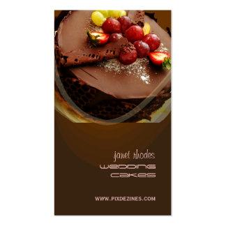 Bäckerei Bäcker-Visitenkarten