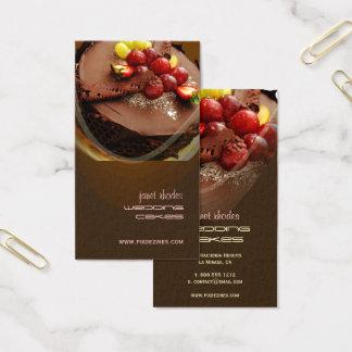 Bäckerei, Bäcker-Visitenkarten Visitenkarte