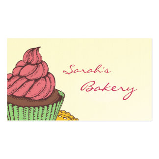 Bäckerei-Kuchen-Visitenkarten Visitenkarten