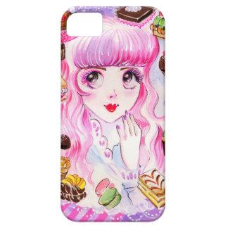 Bäckerei-Mädchen iPhone 5 Schutzhüllen