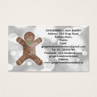 Bäckerei-Visitenkarte Visitenkarte