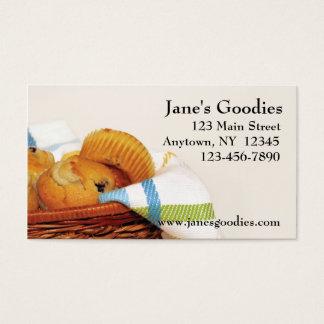 Bäckerei-Visitenkarte Visitenkarten