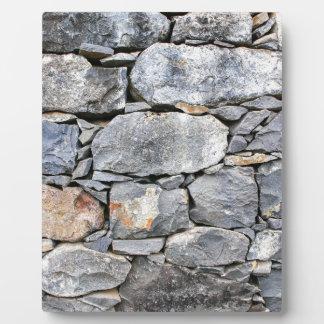 Backgound der natürlichen Steine als Wand Fotoplatte