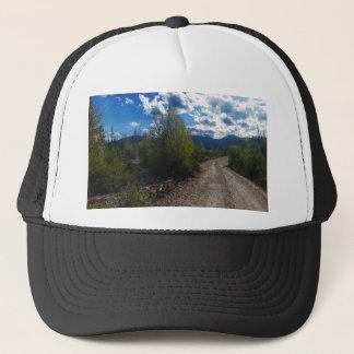 Backroad zu Bowman See Glacier Nationalpark Truckerkappe