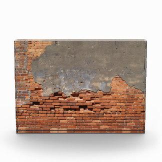 Backstein-Wand mit Kopien-Raum-Preis Auszeichnung