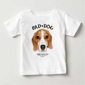 Bad Dog Beagle (farbig) Babypulli Baby T-shirt
