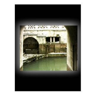 Bad-England 1986 römisches Bath1b snap-14067 Postkarte