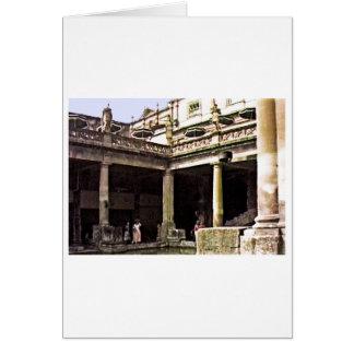 Bad-England 1986 römisches Bath1c snap-17814b Karte