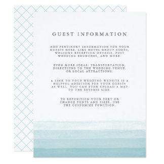 Bad-Färbungs-Gast führt Aqua der Karte