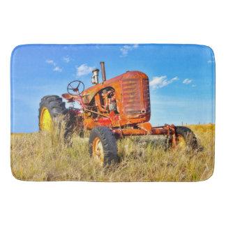 Bad-Matten-Antiken-Orangen-Traktor Badematte