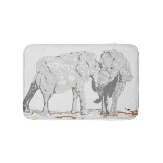 Bad-Matten-Elefanten Badematten
