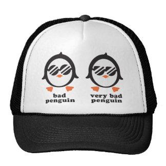 bad penguin - Pinguin Netzkappen