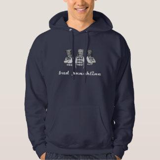 bad punchline - hoodie - dark marine