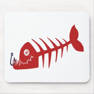 Bad Skull Fish Netz Mousepad