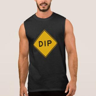 Bad, Verkehrs-Warnzeichen, USA Ärmelloses Shirt