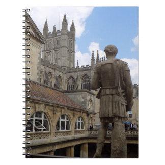 Bad, Weltreise-Zeitschrift Somersets England Notizblock
