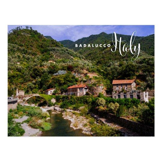 Badalucco Italien Postkarte