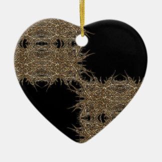 badark gold keramik Herz-Ornament