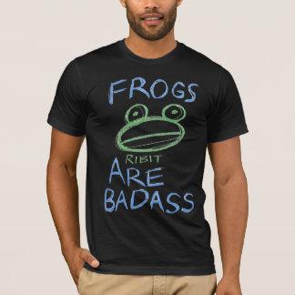 Badass Frösche (Medium: Zeichenstifte!) T-Shirt