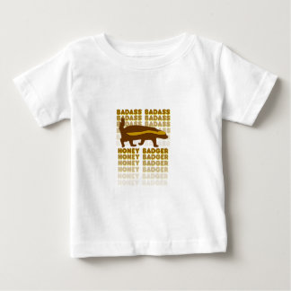 Badass Honig-Dachs Baby T-shirt
