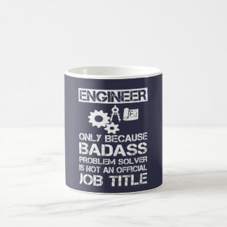 Badass Ingenieur Kaffeetasse
