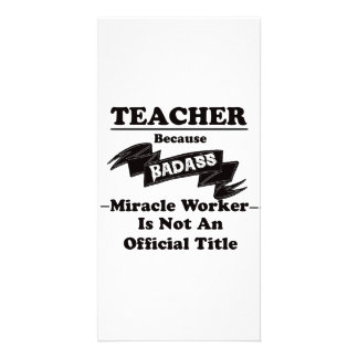 Badass Lehrer Karte