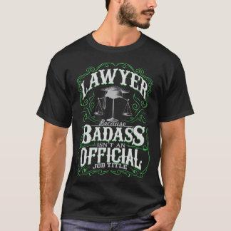 Badass Rechtsanwalt T-Shirt