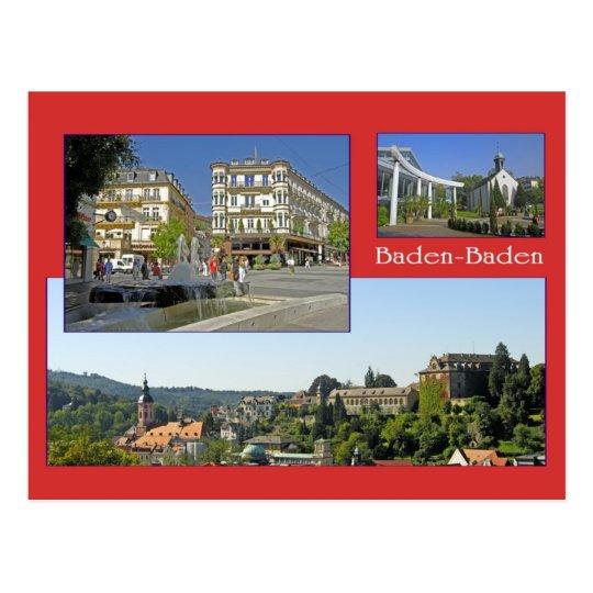 Baden-Baden Ansichtskarte Postkarte